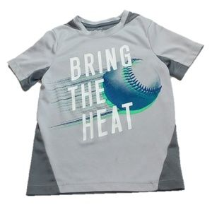 OshKosh B'gosh Kids Bring The Heat Baseball Tee